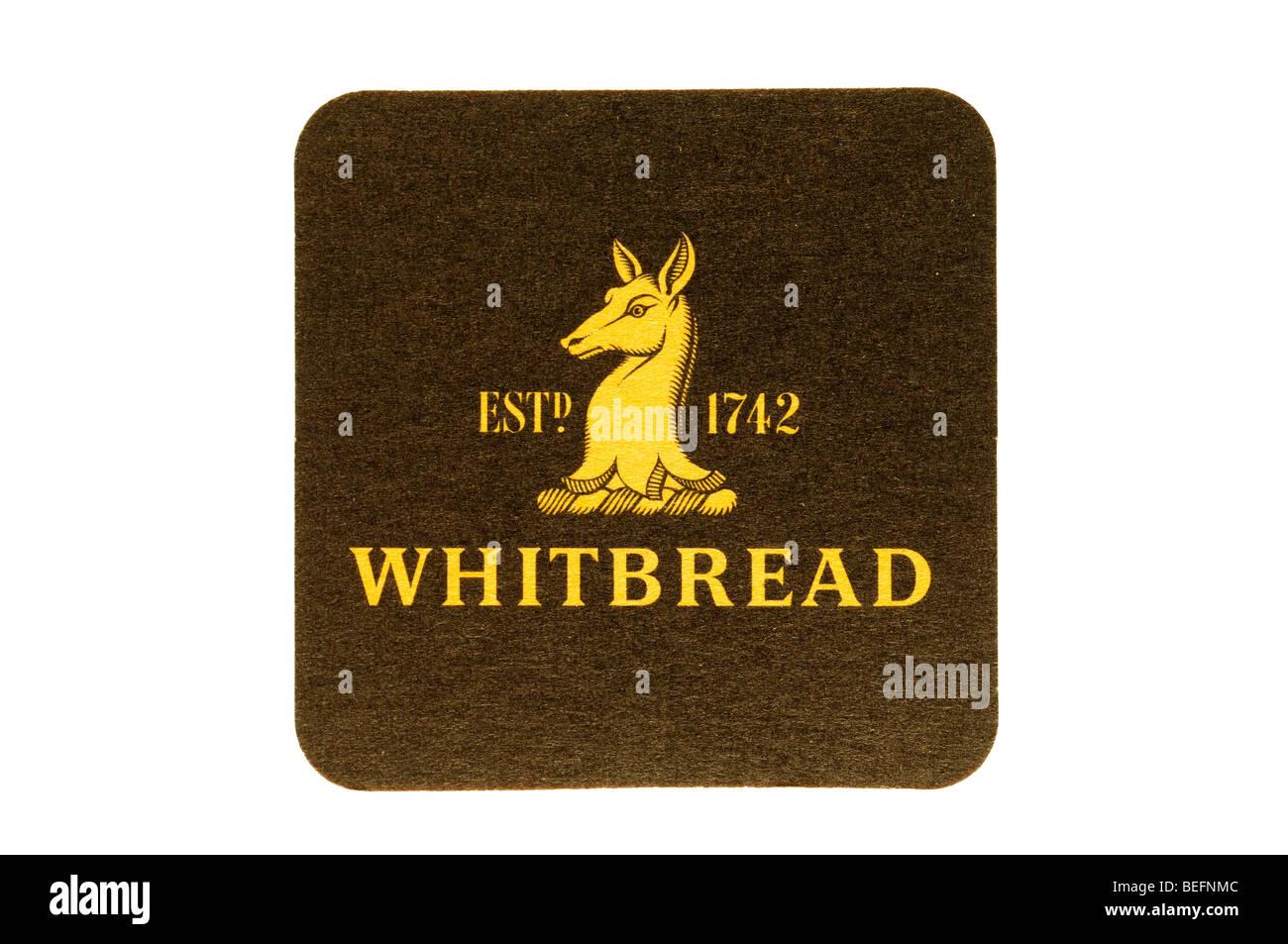 est 1742 whitbread - Stock Image