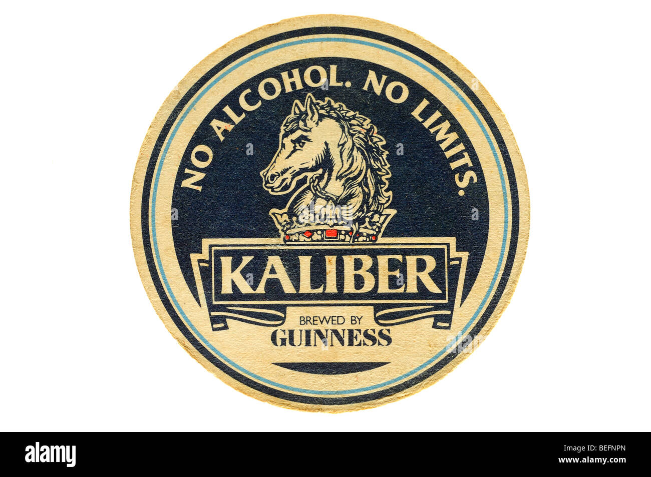no alcohol no limits kaliber brewed by guiness - Stock Image