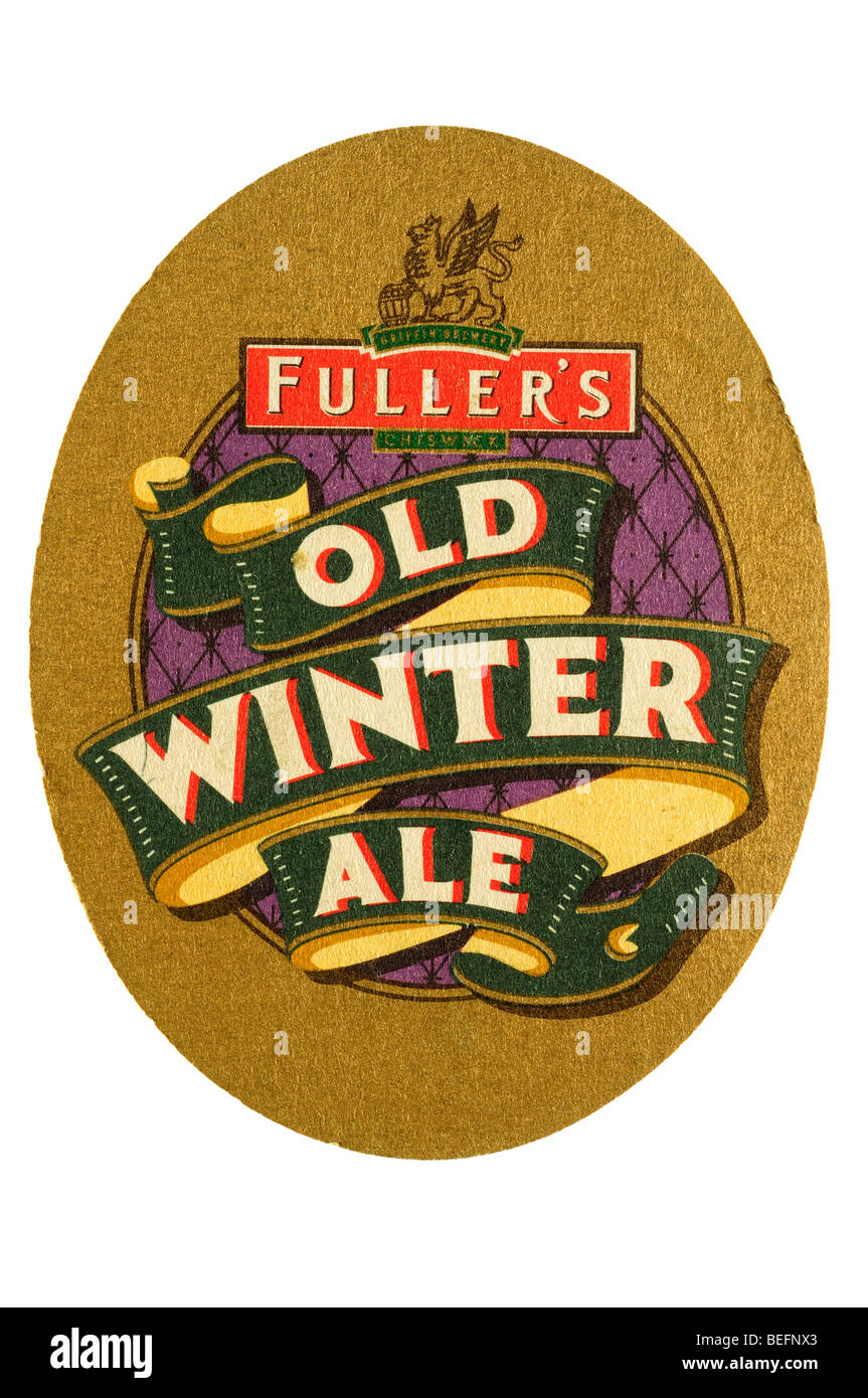 fullers old winter ale - Stock Image