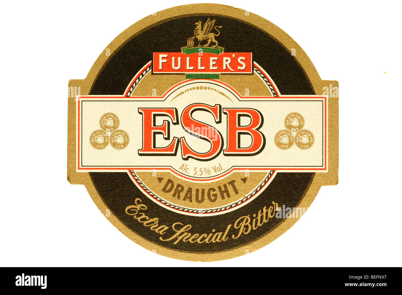 fullers esb draught extra special bitter - Stock Image