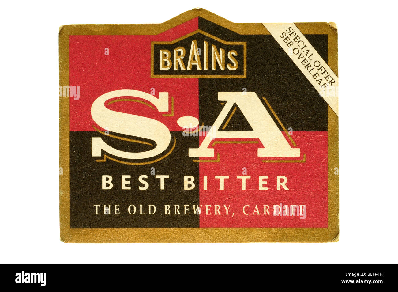 brains s a best bitter the old brewery cardiff - Stock Image