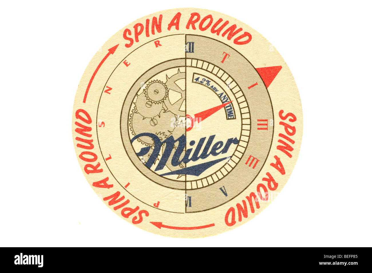 spin a round miller - Stock Image