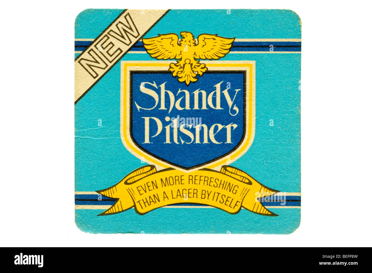 new shandy pilsner even more refreshing than a lager by itself Stock Photo