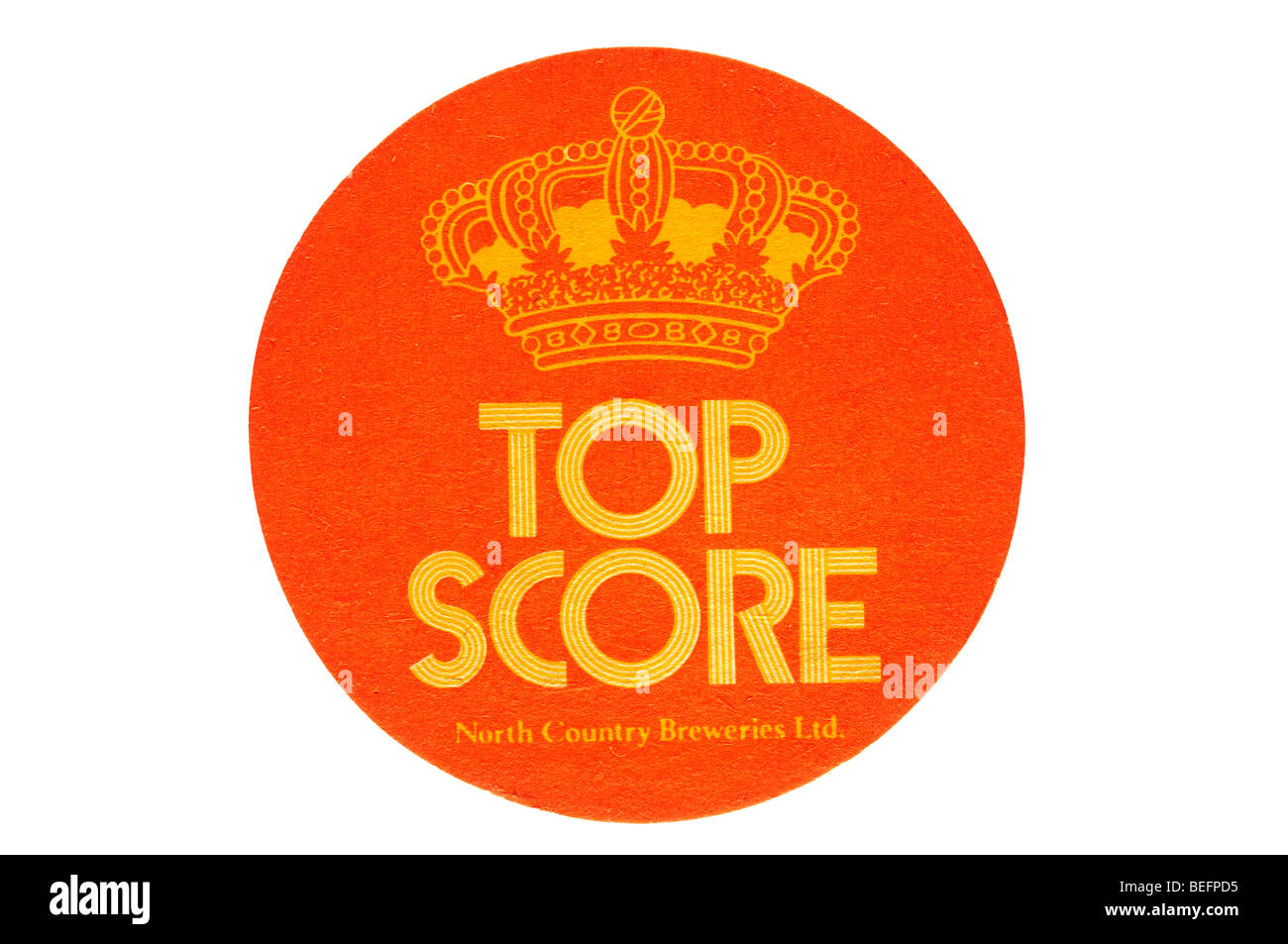 top score north country breweries ltd - Stock Image