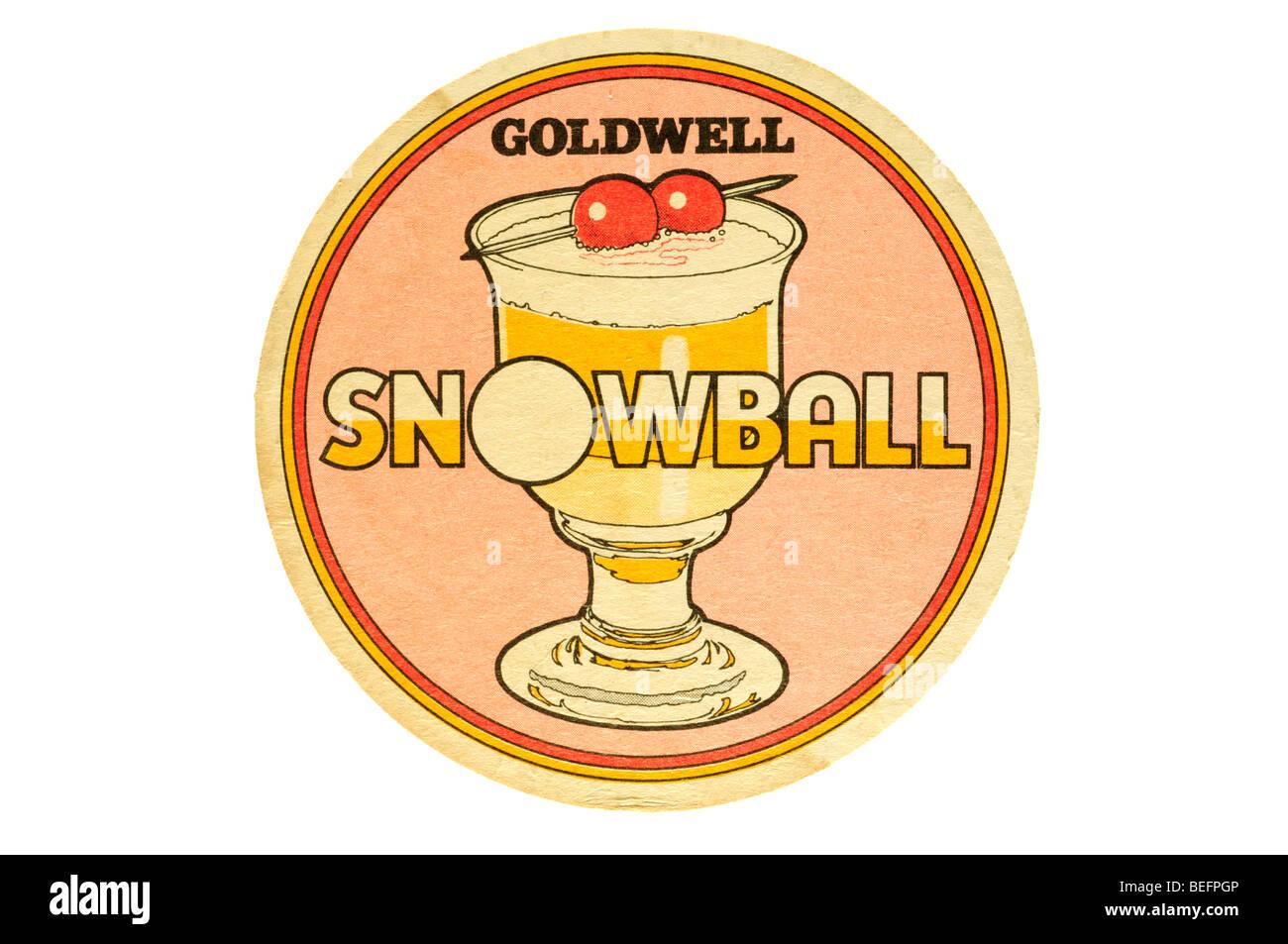 goldwell snowball - Stock Image