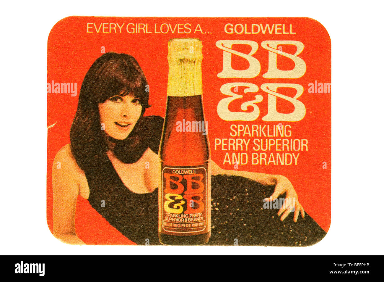 every girl loves a goldwell bb &b sparkling perry superior and brandy - Stock Image