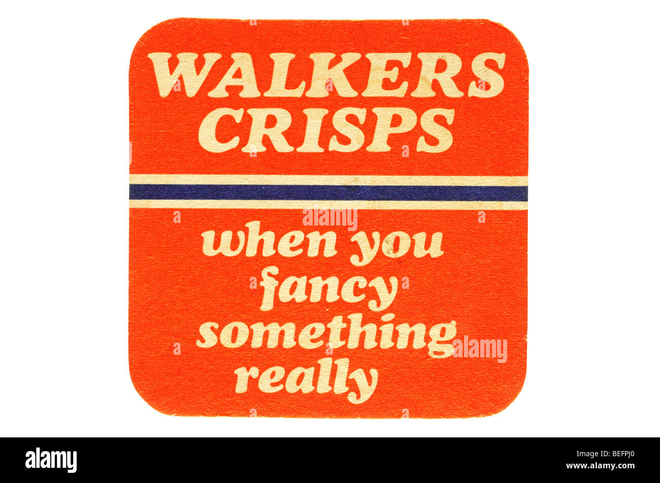 walkers crisps when you fancy something really - Stock Image