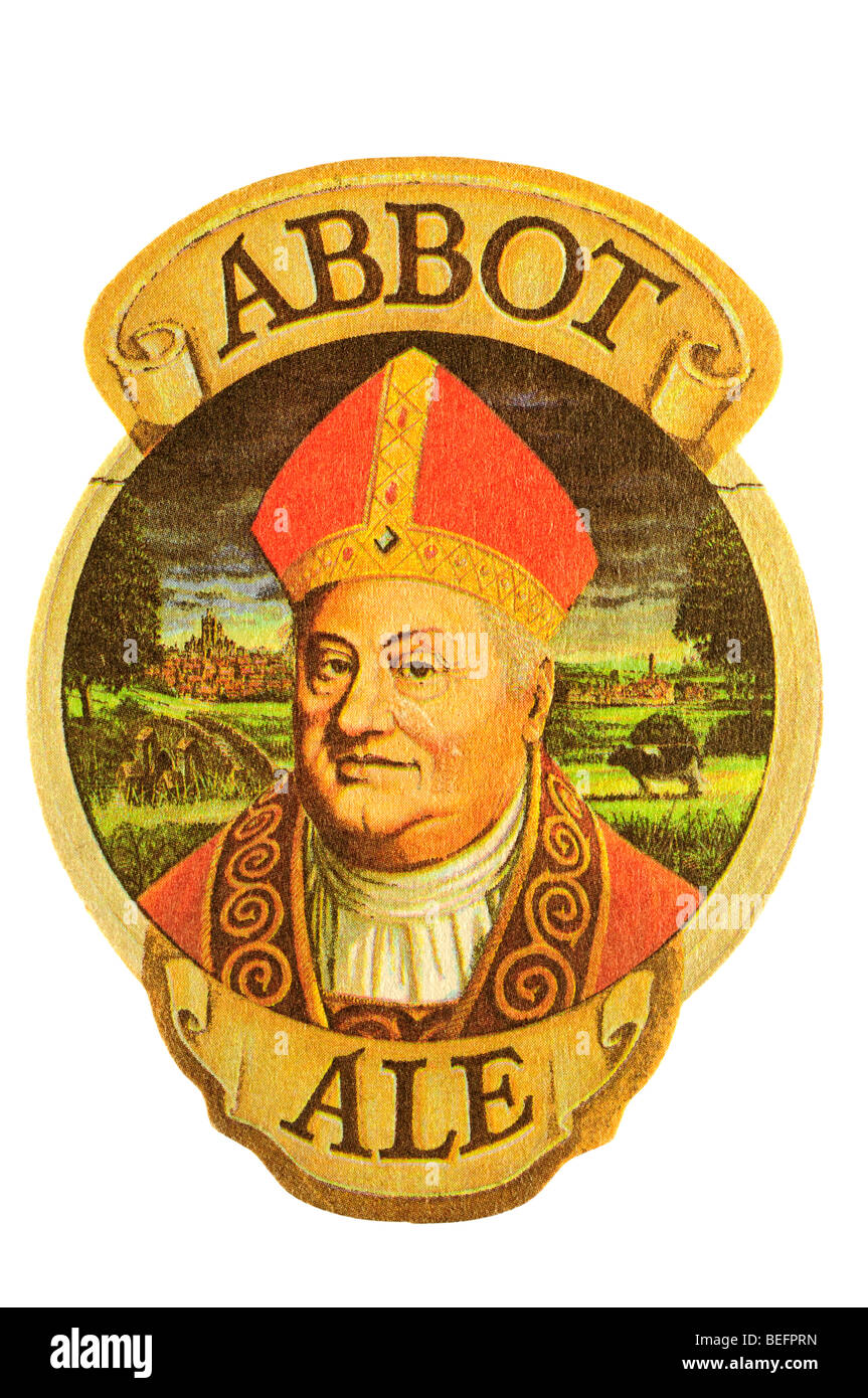 abbot ale - Stock Image