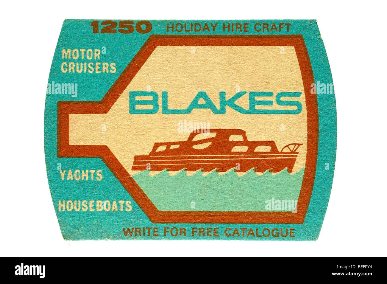 1250 holiday hire craft motor cruisers yachts houseboats blakes - Stock Image