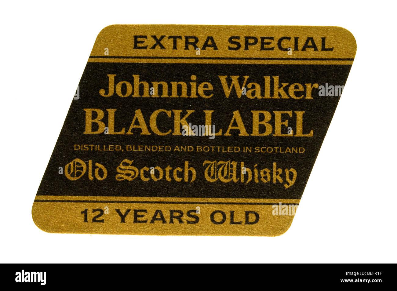Extra Special Johnnie Walker Black Label Distilled Blended