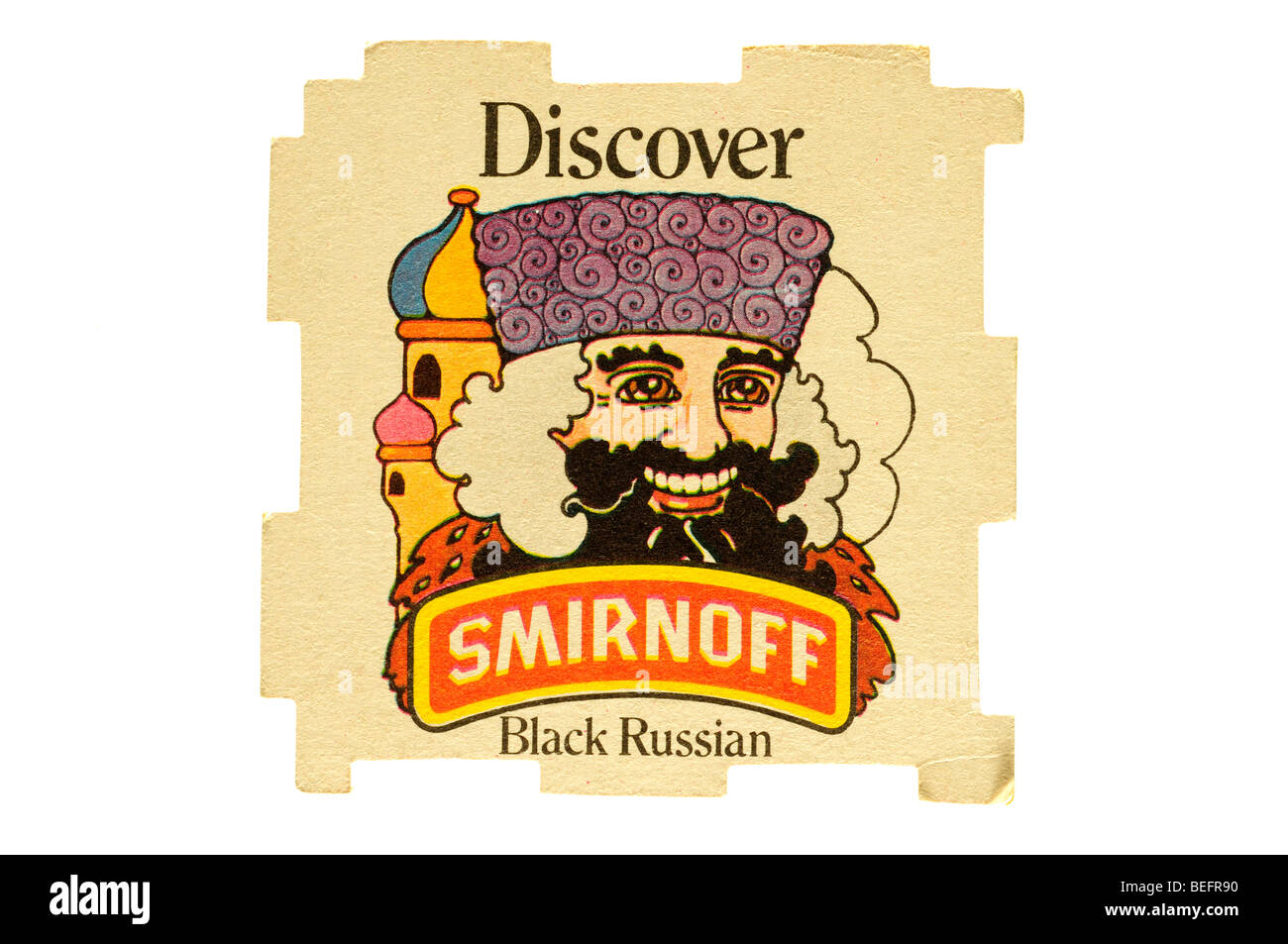 discover smirnoff black russian - Stock Image