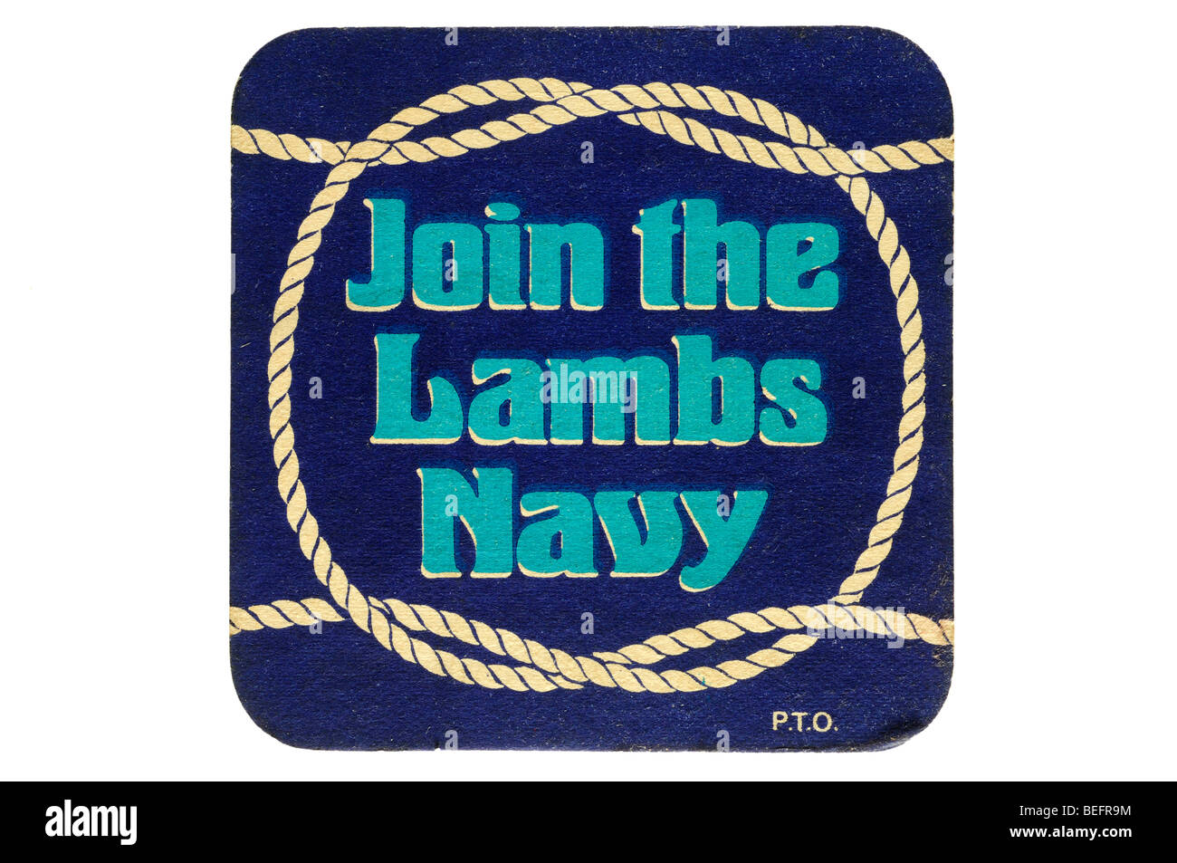 join the lambs navy - Stock Image