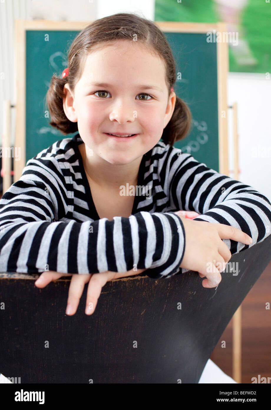 School-age child - Stock Image