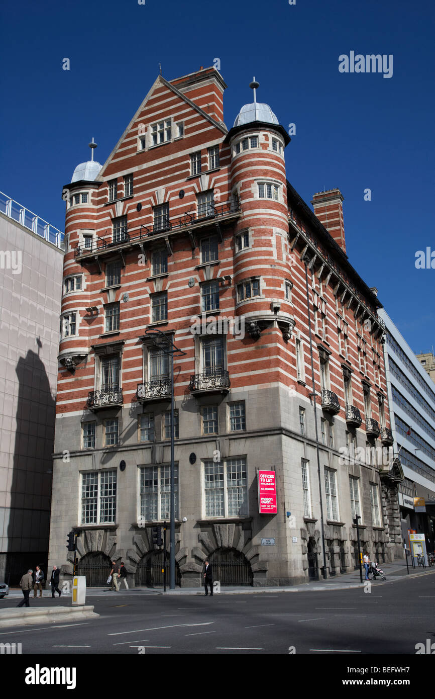 albion house james street liverpool former offices of the white star line known locally as the streaky bacon building - Stock Image