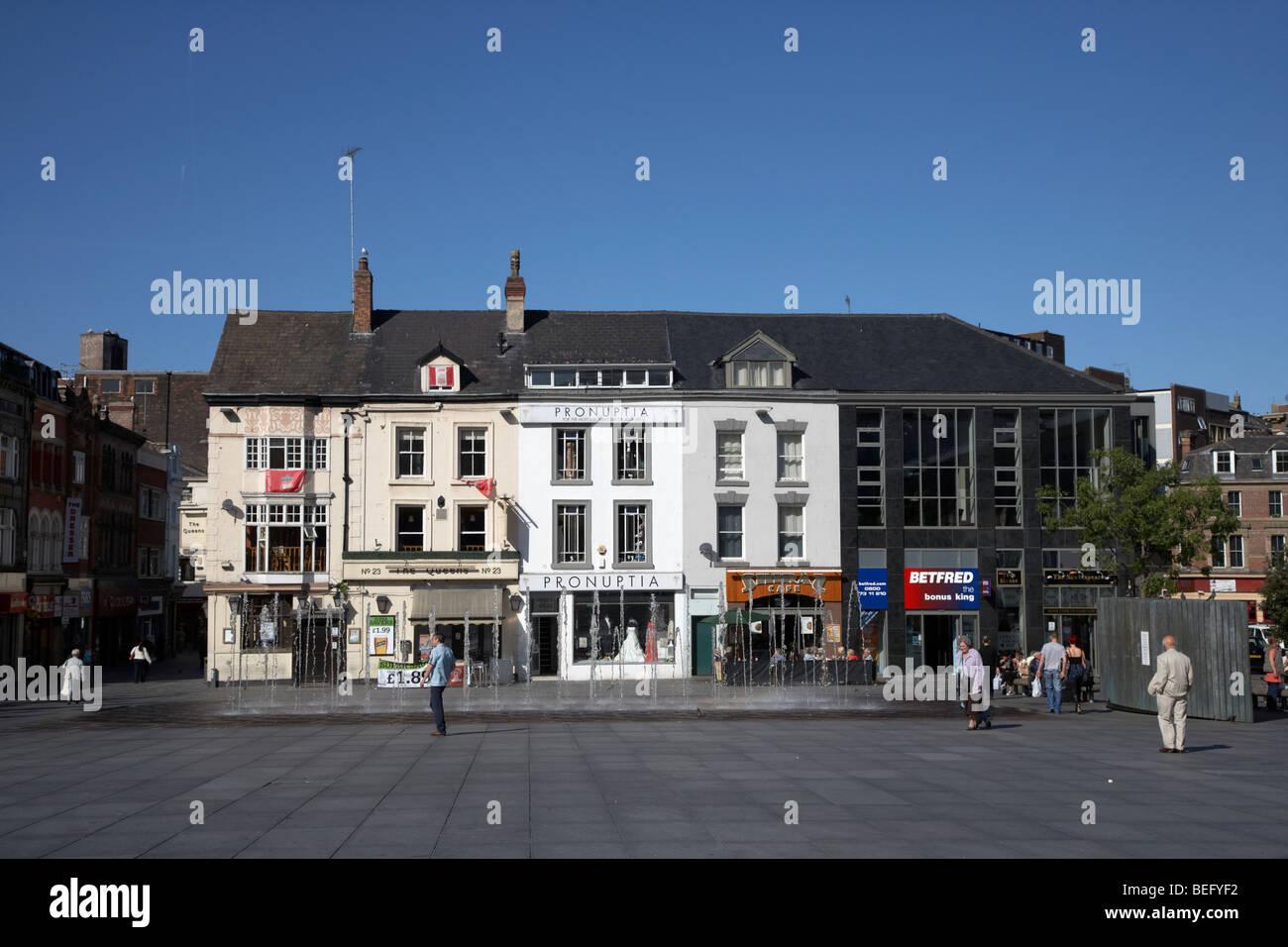 williamson square in liverpool city centre liverpool merseyside england uk Stock Photo