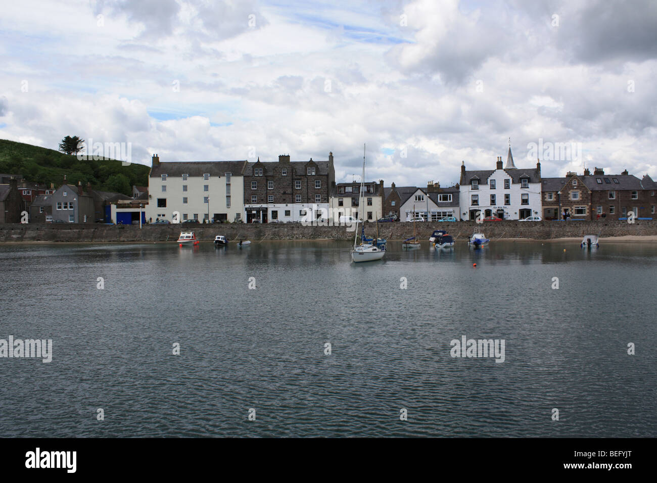 stonehaven harbour - Stock Image