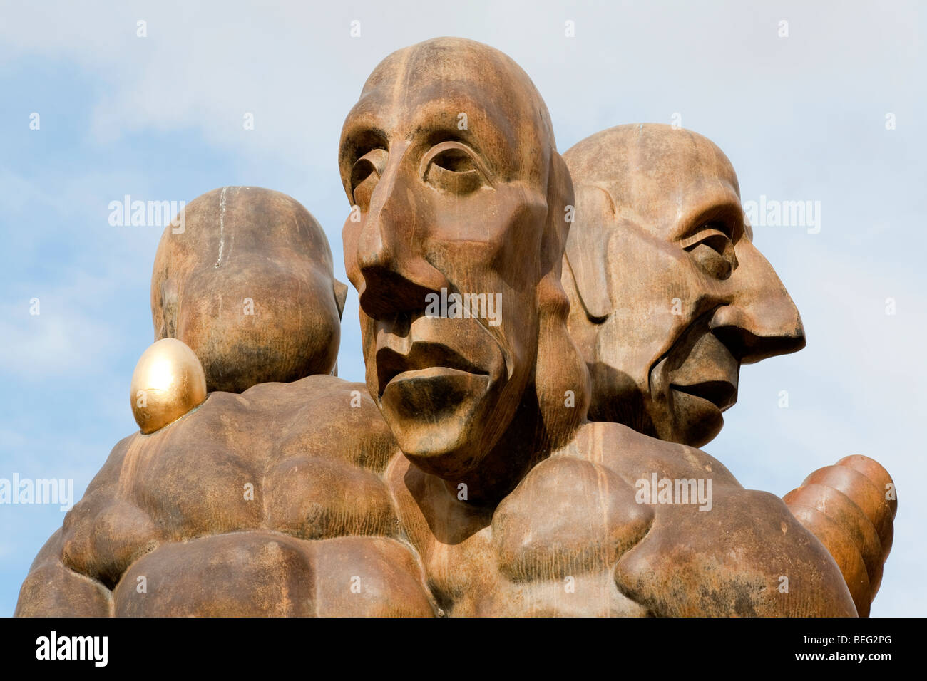 The Shadow The Traveling Companion And The Improvisor A Memorial Stock Photo Alamy