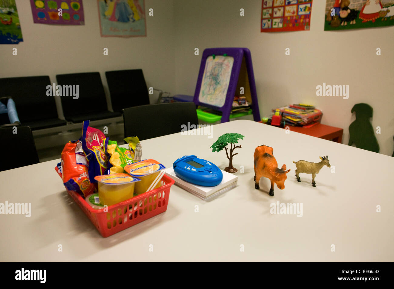 Childrens Toys In A Uk Border Agency S Immigration Detention Room
