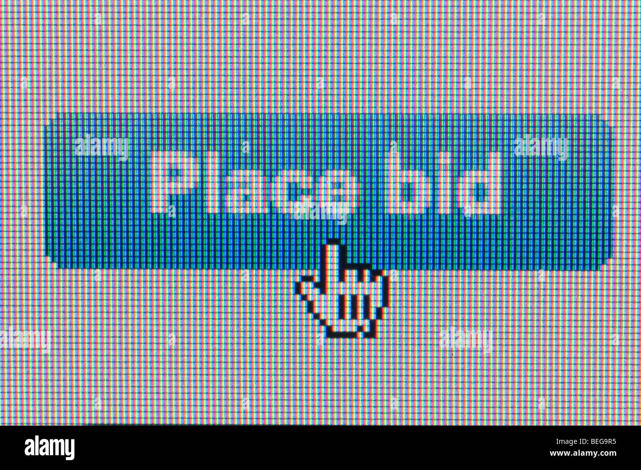 Ebay screenshot - Stock Image