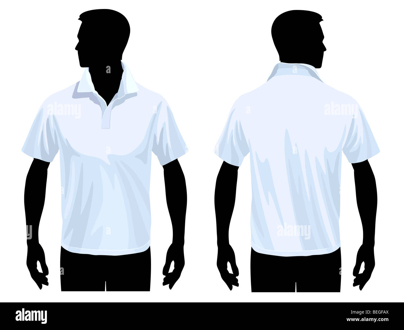 Black Polo Shirt Front And Back Template Artistic Endeavours