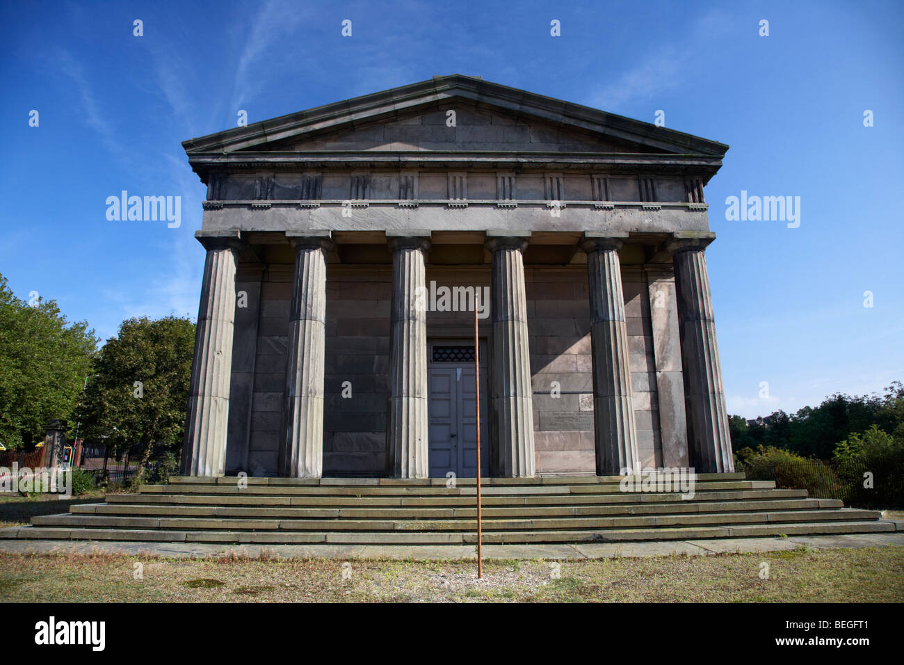 The Oratory former chapel of St James Cemetery Liverpool Merseyside england uk Stock Photo