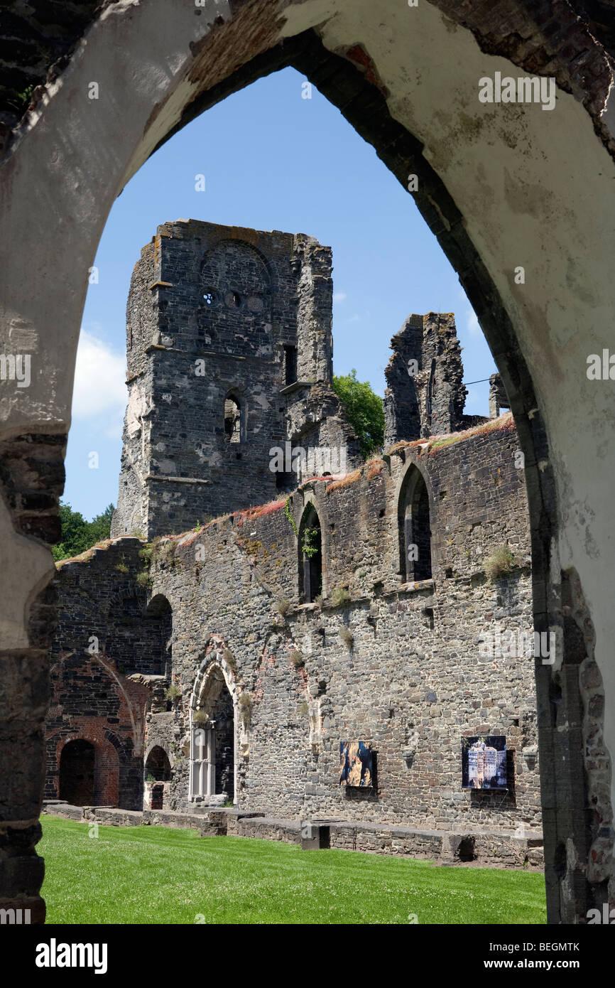 Villers La Ville Abbey. Ruins of Cistercian Abbey. Stock Photo