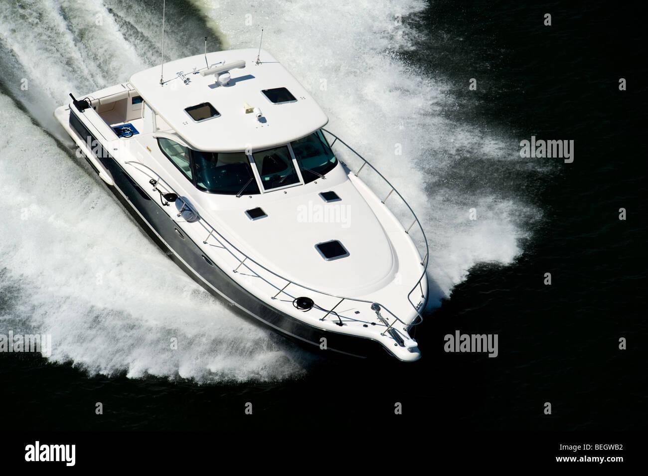speed boat - Stock Image