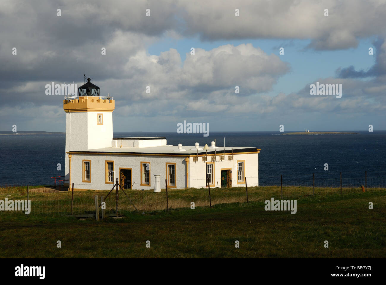 Duncansby Head Caithness Scotland. - Stock Image