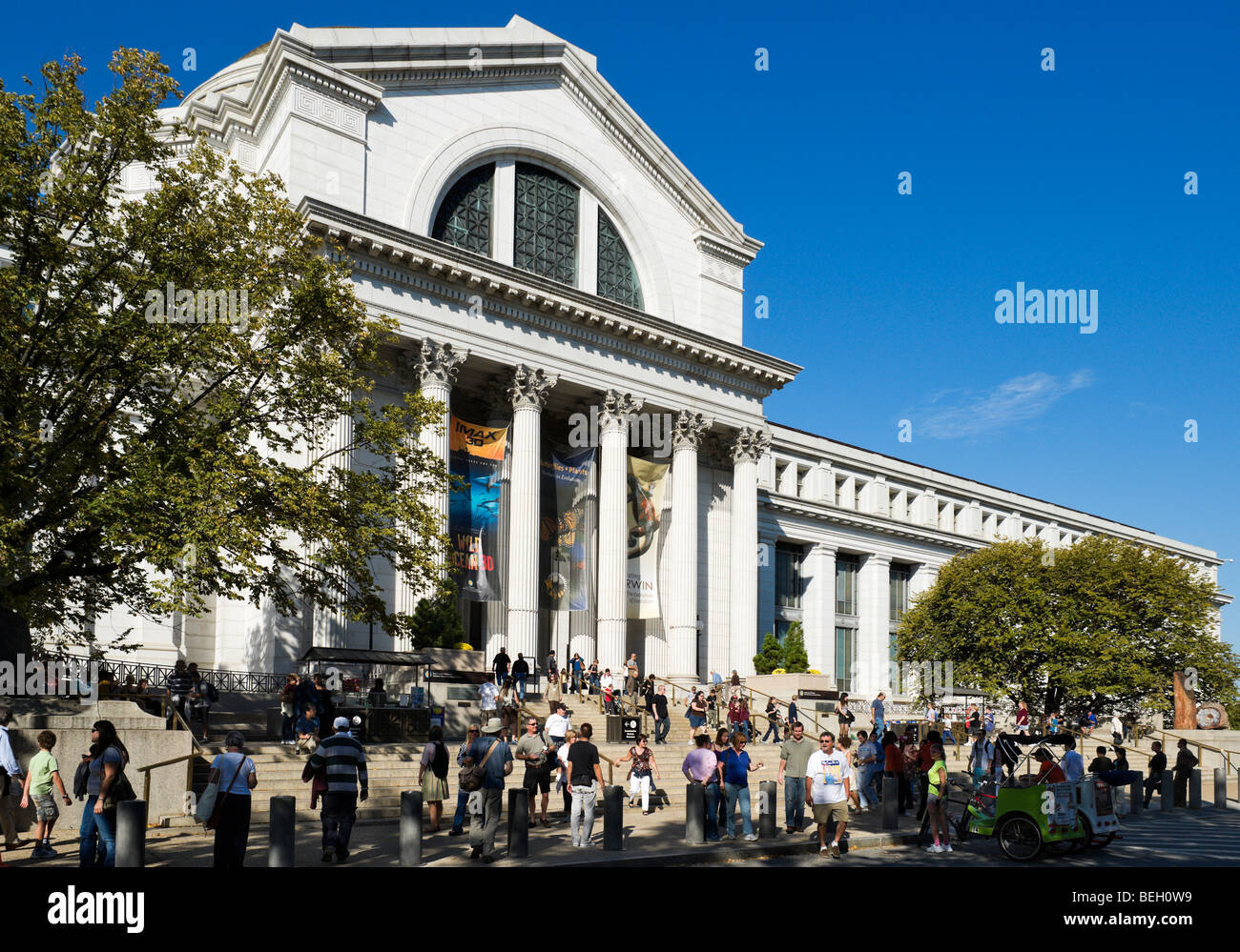 The Smithsonian Institutution National Museum of Natural History, the Mall, Washington DC, USA - Stock Image
