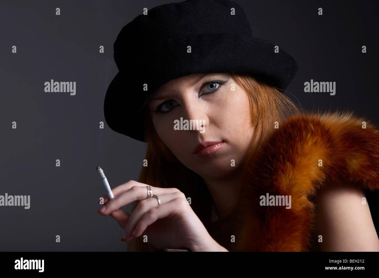 Cigerette redhead pics gallery assured