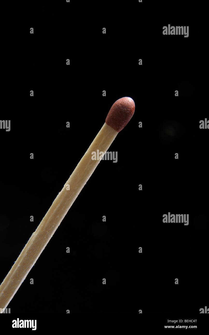 Unlit match - Stock Image