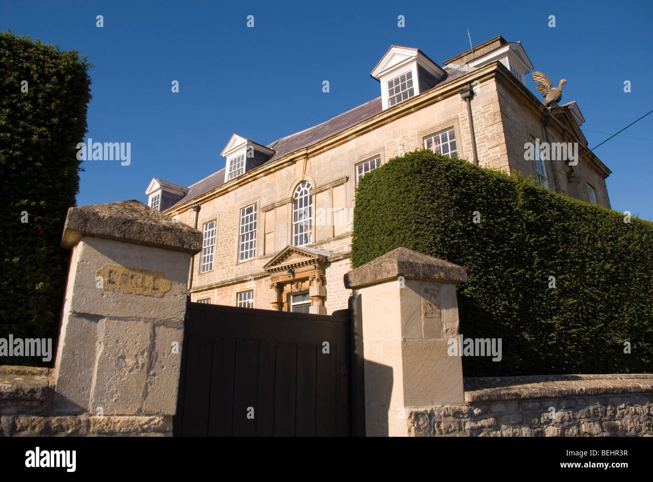 Eagle House Batheaston BaNES England UK Used as a meeting place and refuge for suffragettes in early 20th century. - Stock Image