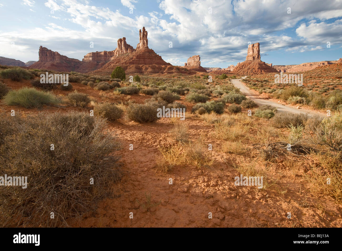 Valley of the Gods, Utah - Stock Image