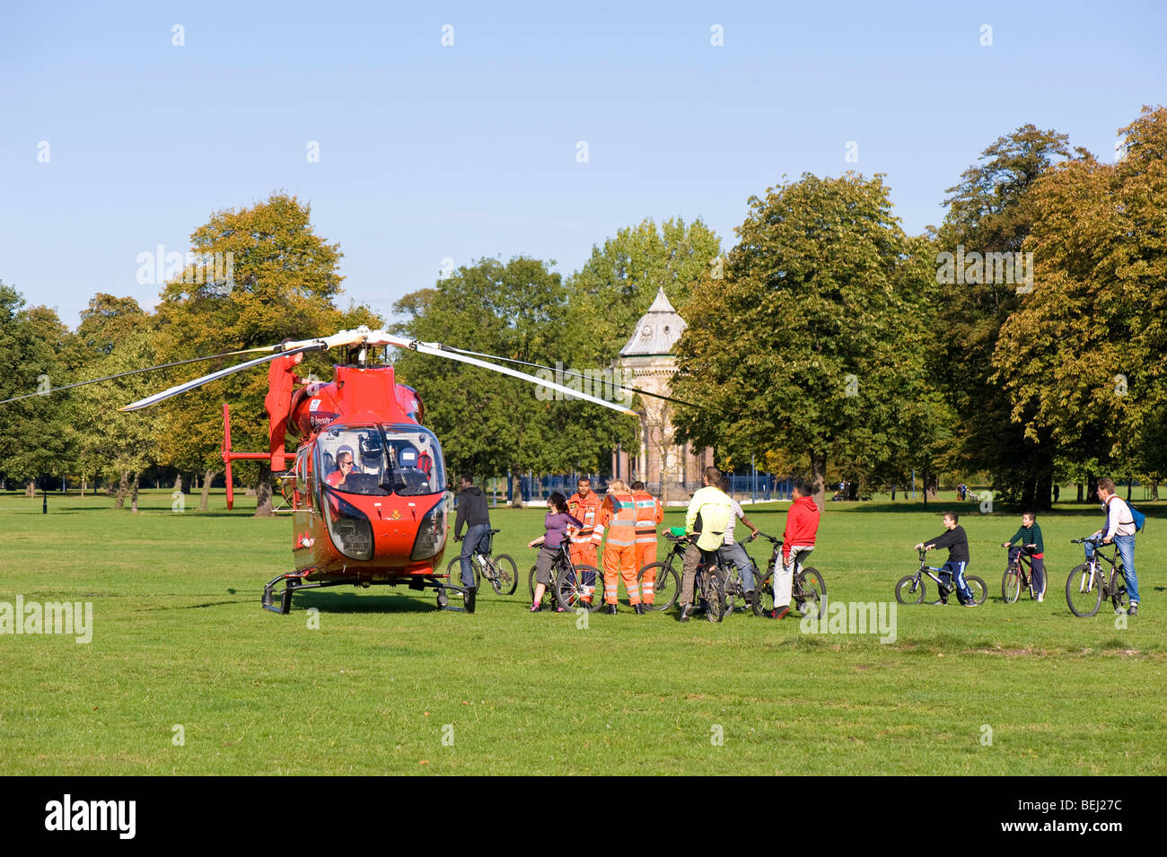 Victoria Park, Hackney, London, United Kingdom - Stock Image