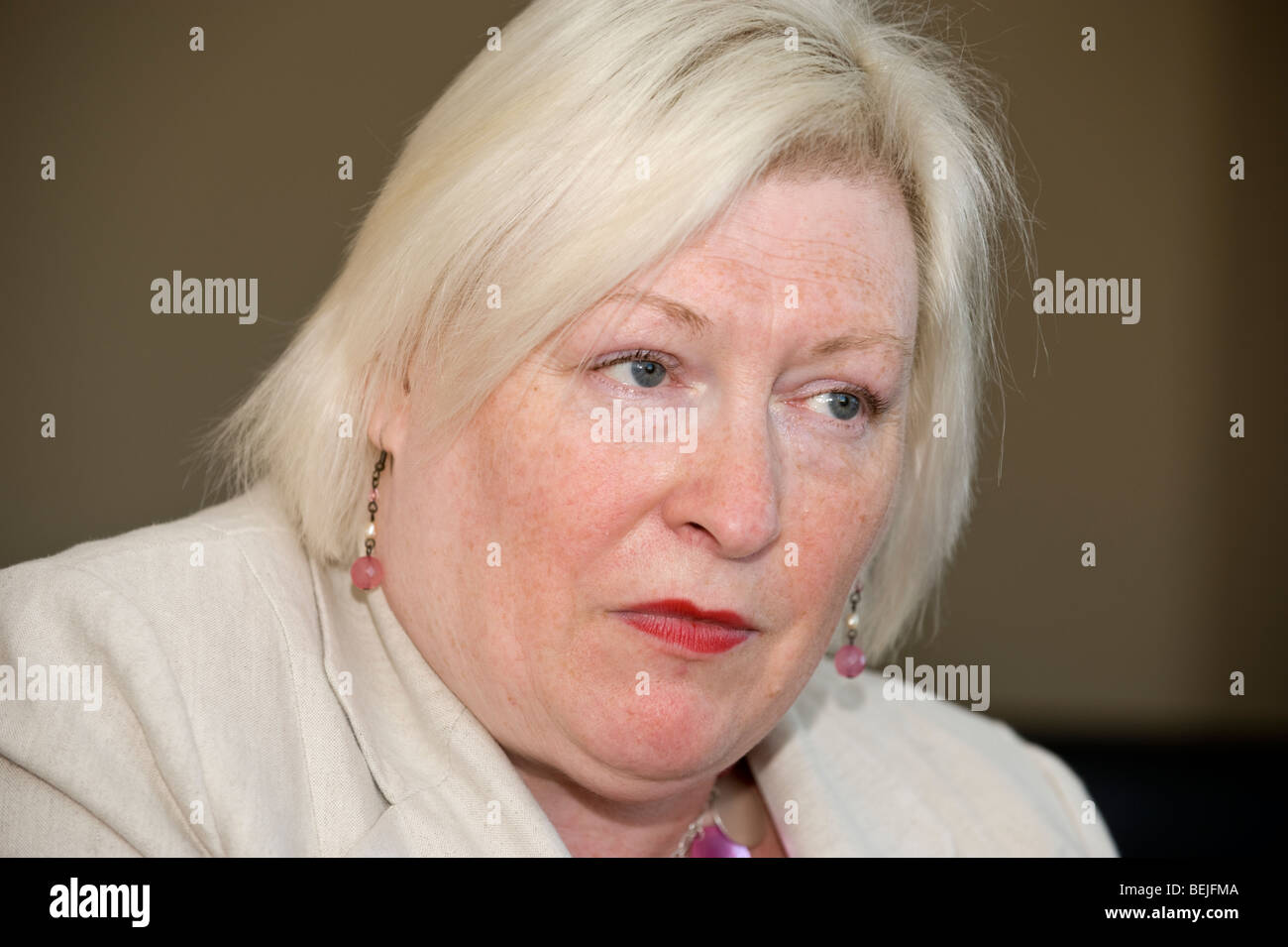 Edwina Hart AM Labour Party Assembly Member for the Gower Constituency in the National Assembly for Wales - Stock Image