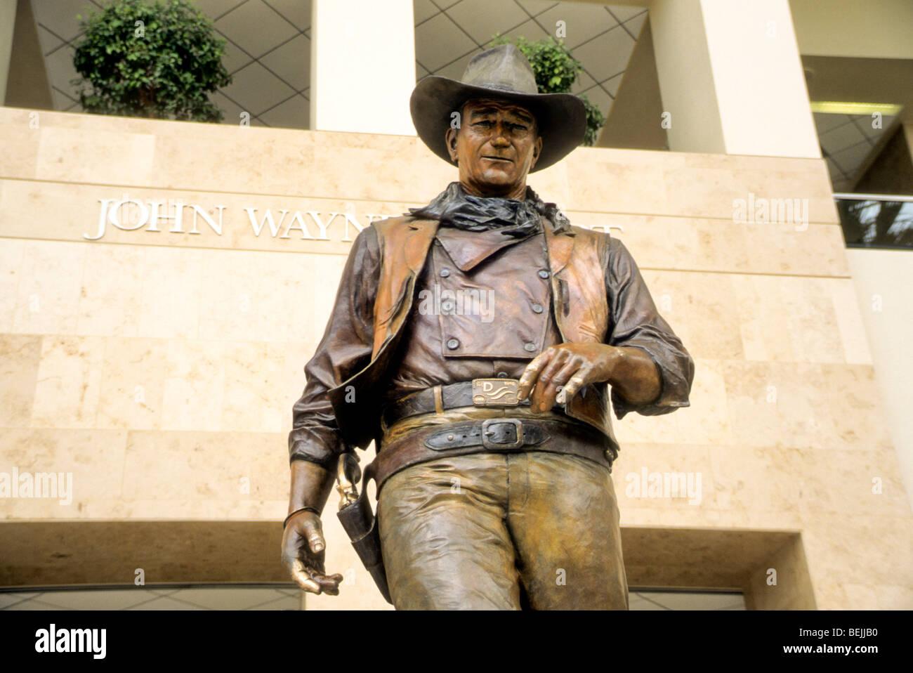 love respect stride walk typical Orange County Airport John Wayne Santa Ana California USA honor memory remember - Stock Image