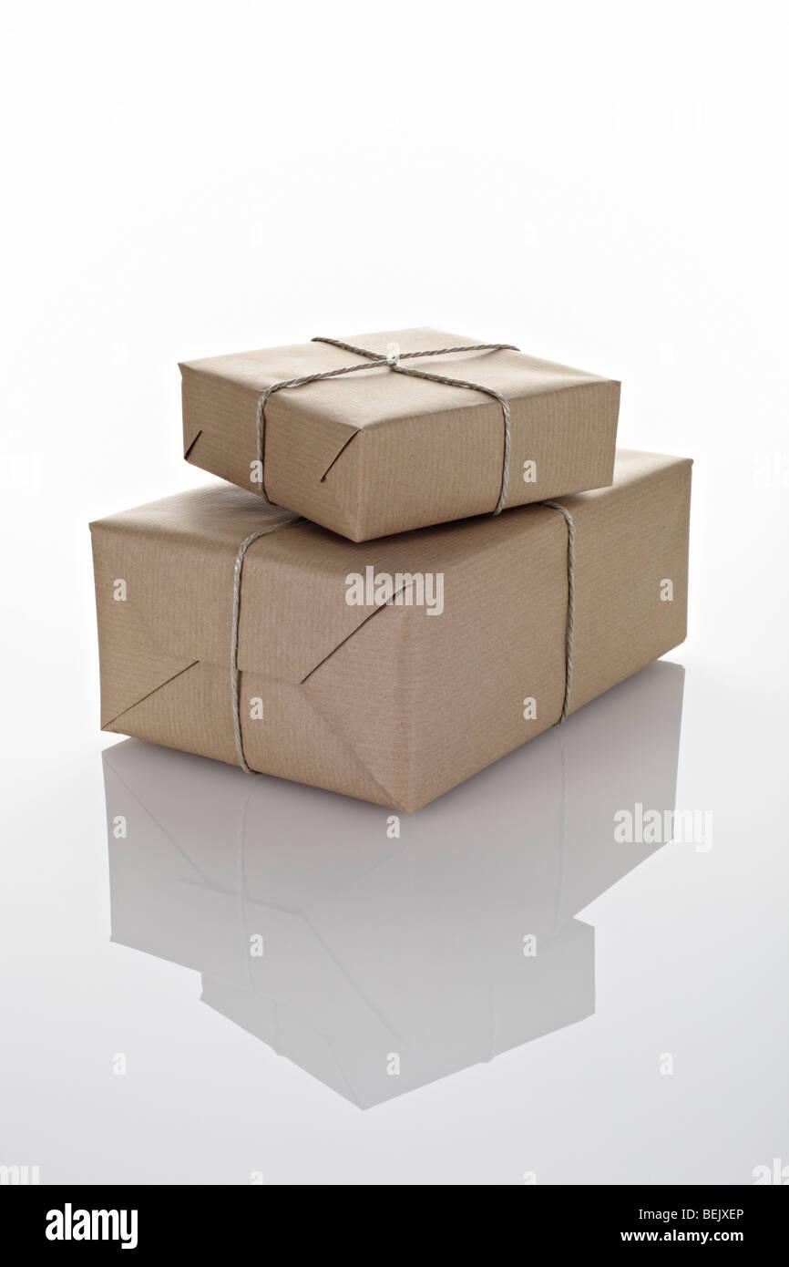 Pakete Stock Photo