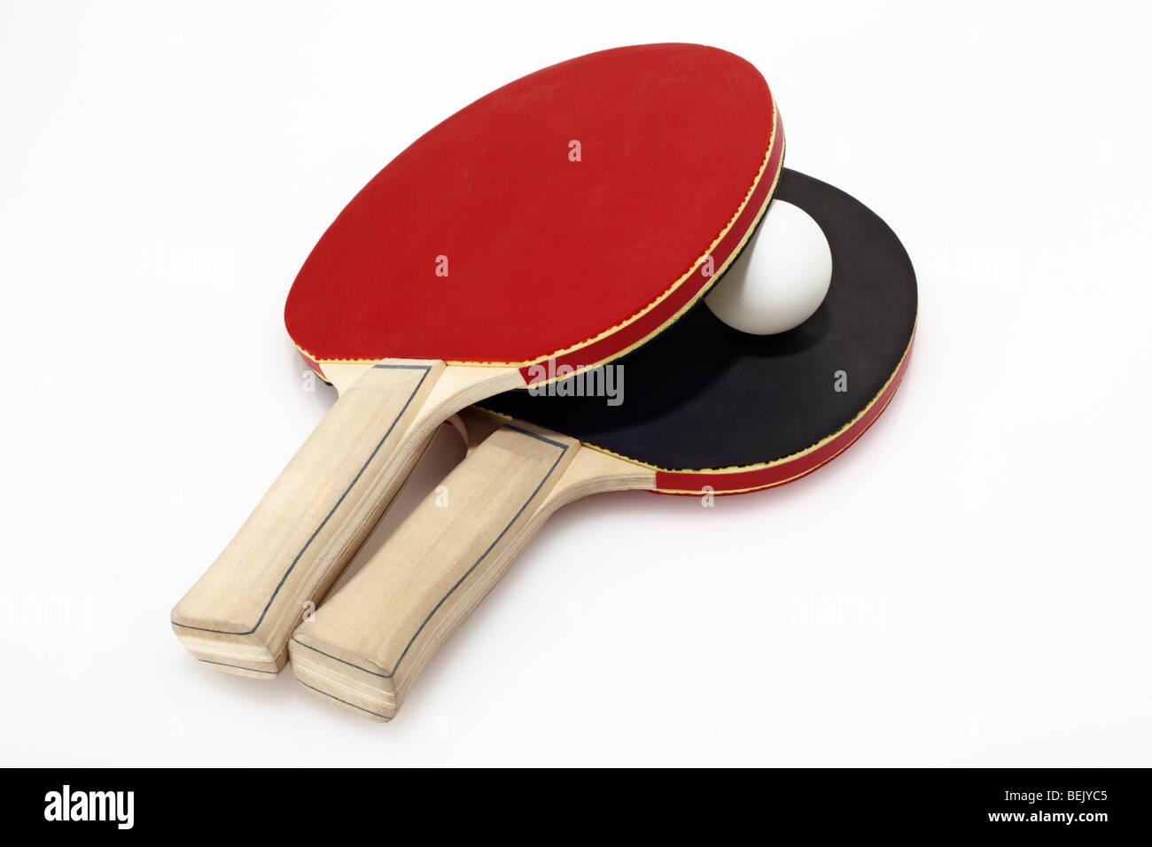 Tischtennisschlaeger - Stock Image