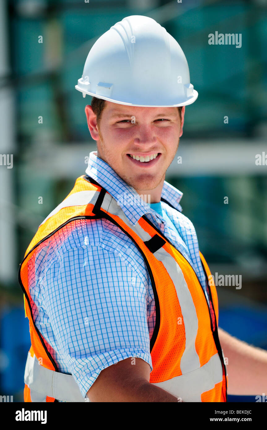 Construction Engineer - Stock Image
