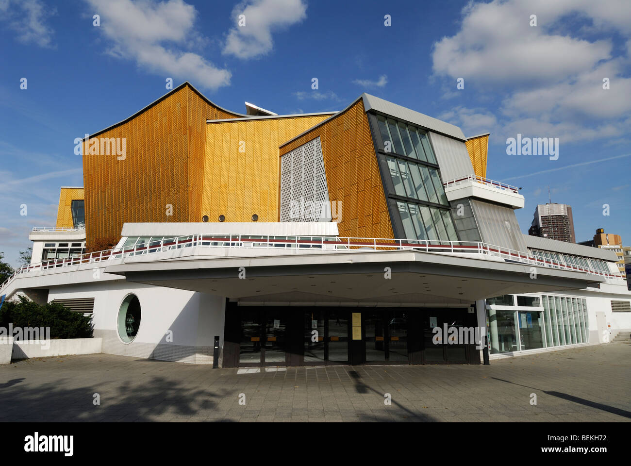Berlin Germany Berlin Philharmonic Concert Hall Philharmonie