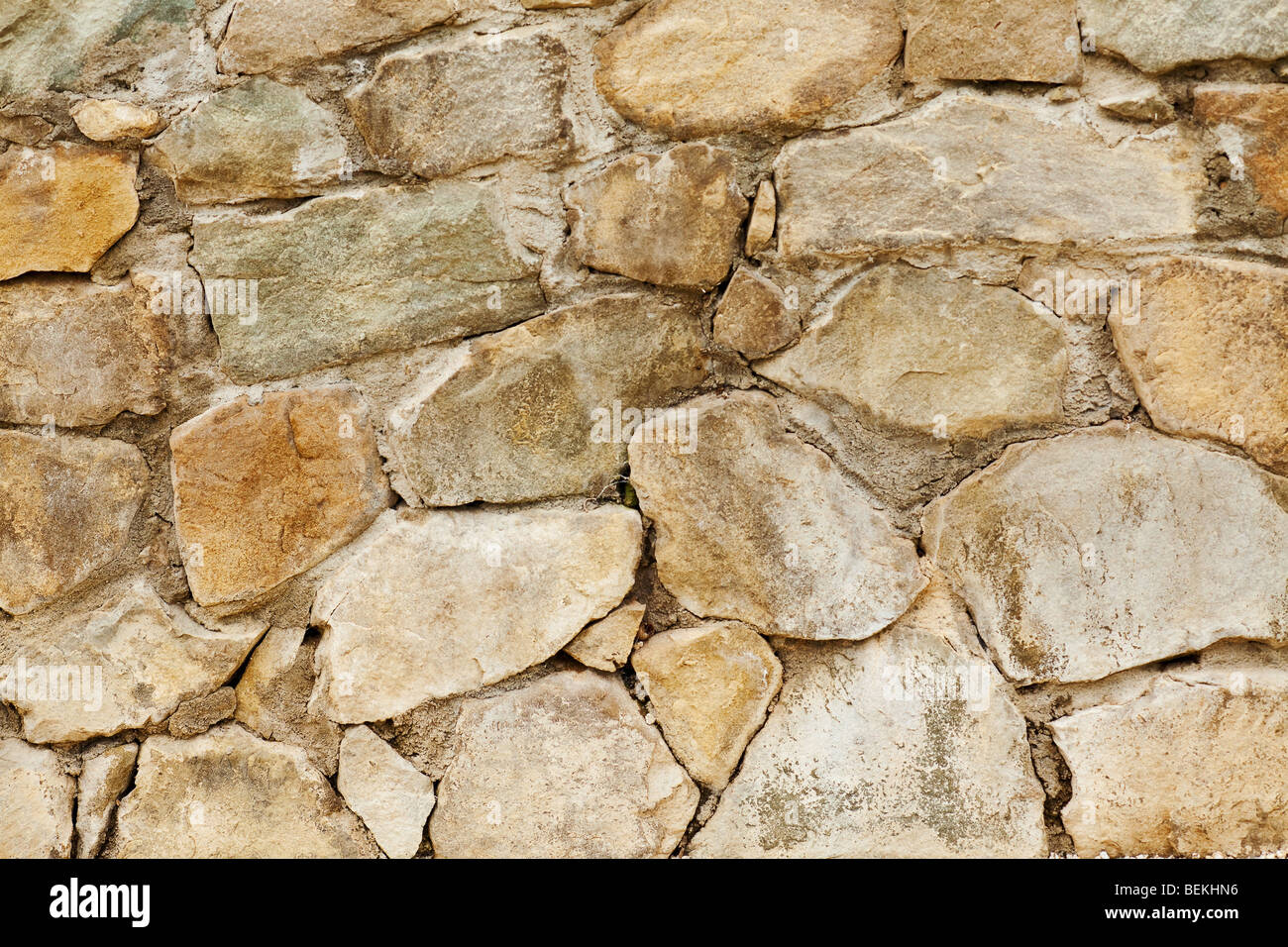 stone wall background shot with a macro lens - Stock Image