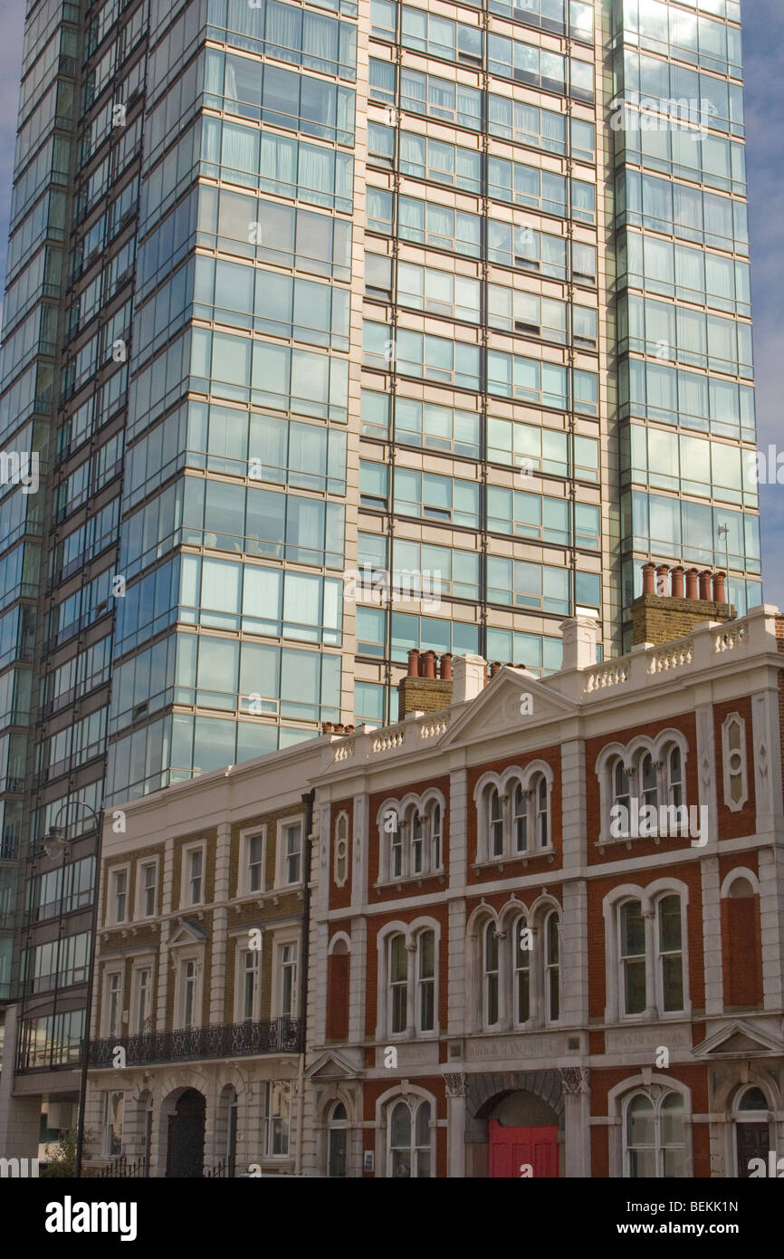 Contrast Between Traditional And Modern Architectural Styles London