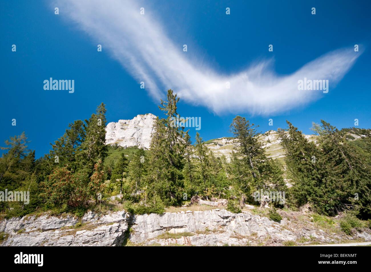 The Loser mountain in Steiermark Austria - Stock Image