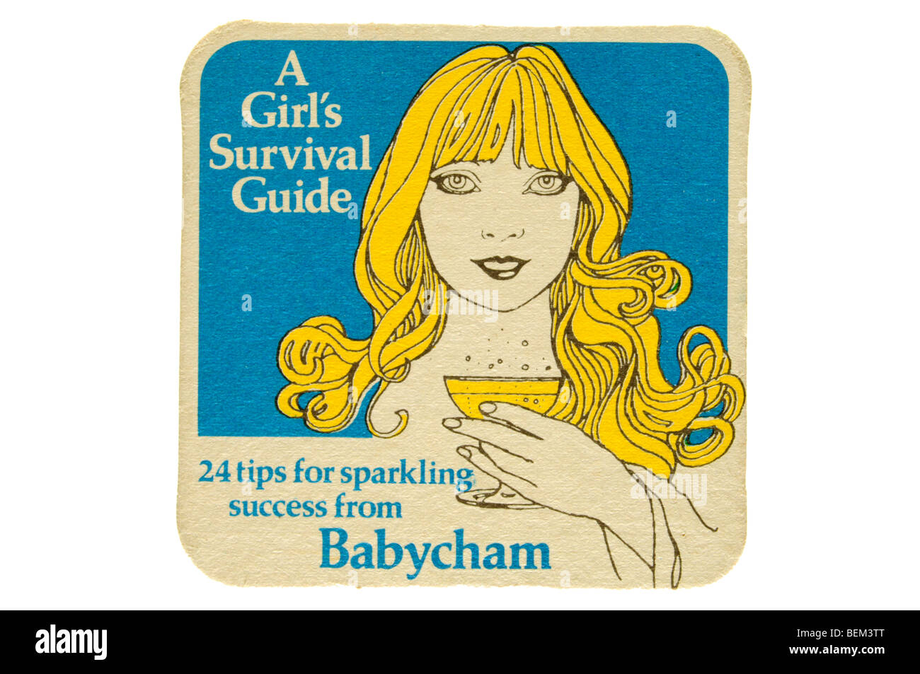 a girls survival guide 24 tips for sparkling success from babycham - Stock Image
