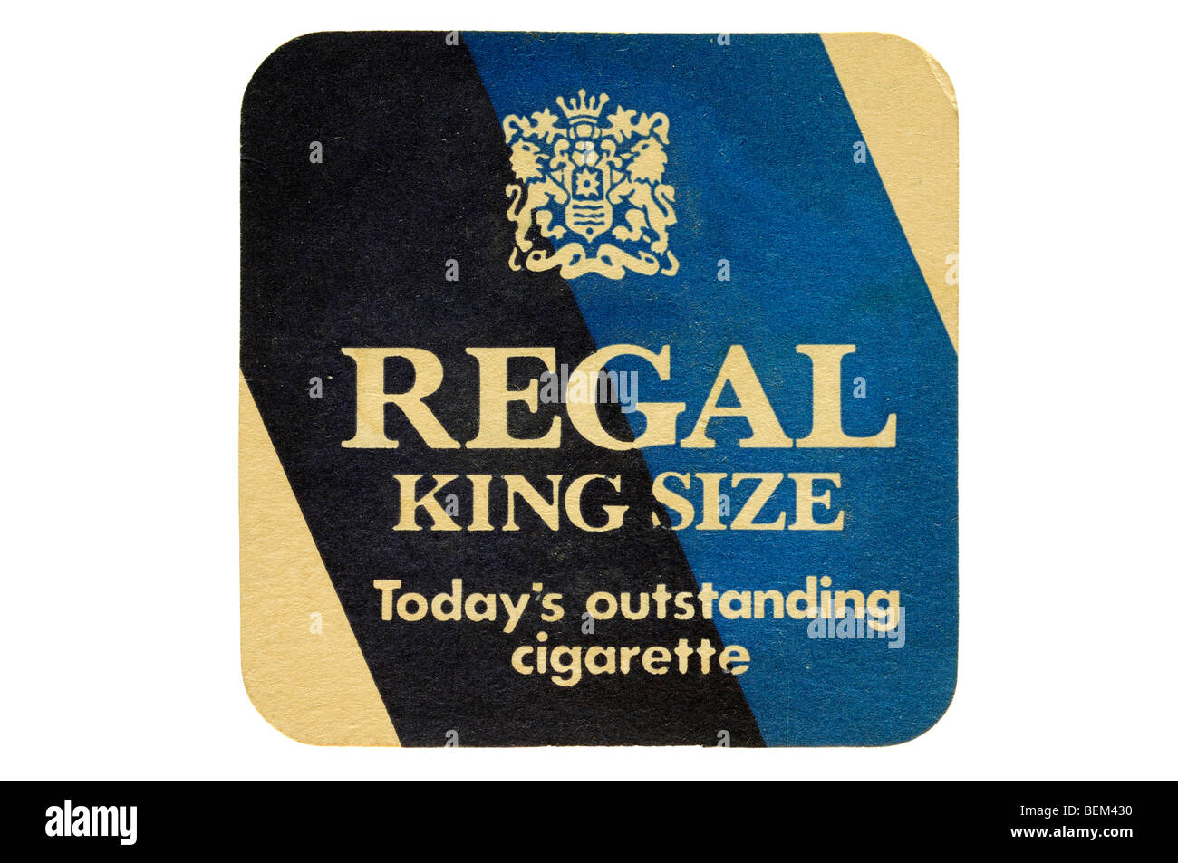 regal kingsize todays outstanding cigarette - Stock Image