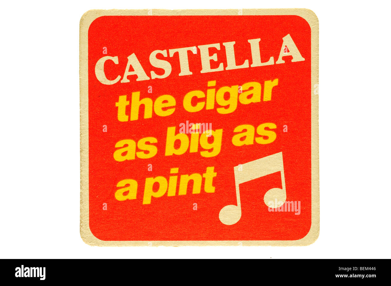 castella the cigar as big as a pint - Stock Image