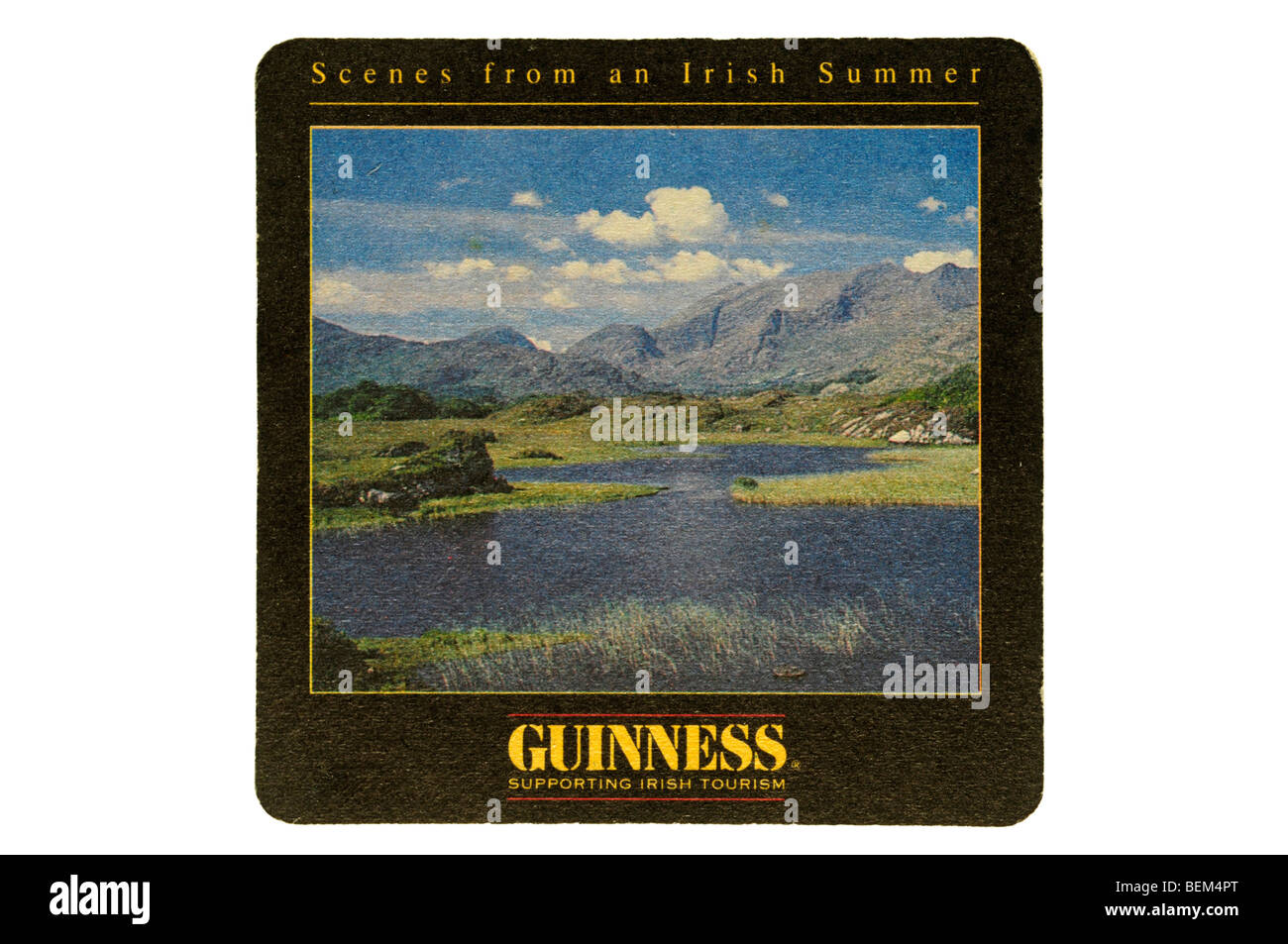 scenes from an irish summer guinness supporting irish tourism - Stock Image