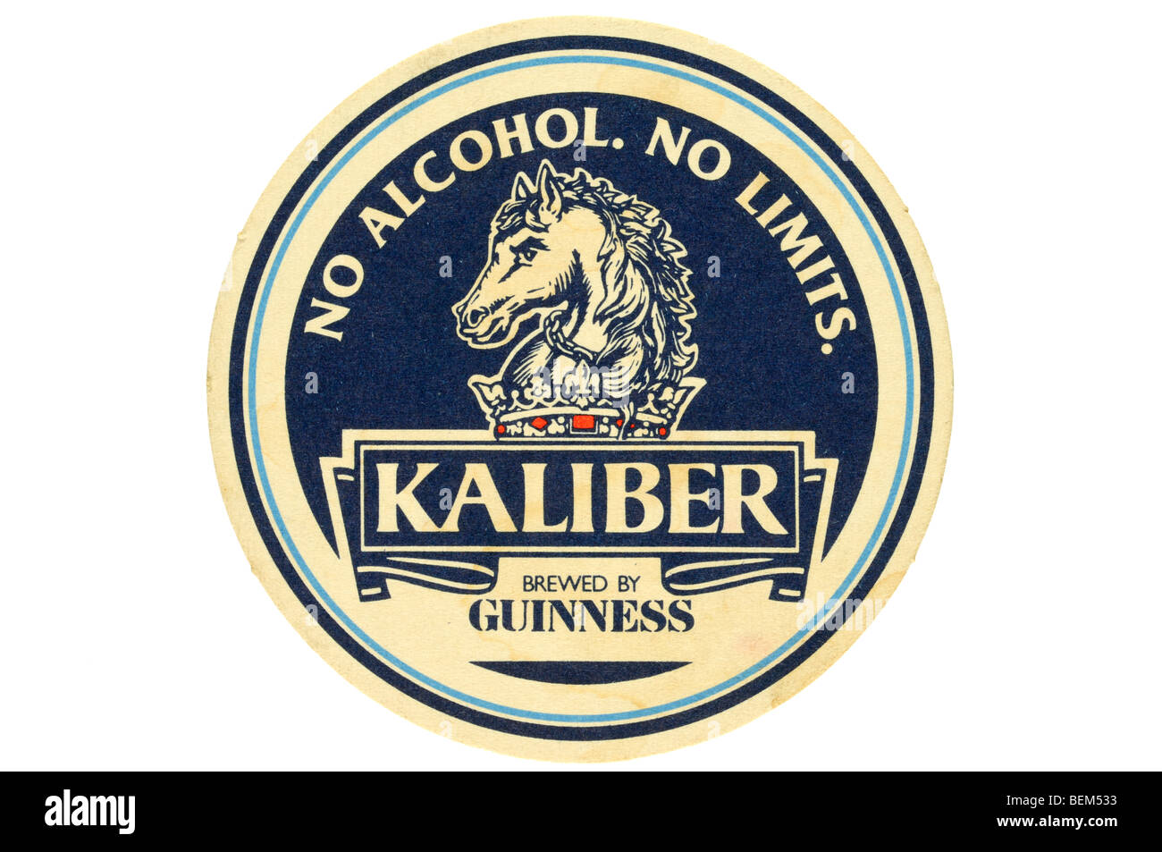 no alcohol no limits kaliber brewed by guinness - Stock Image