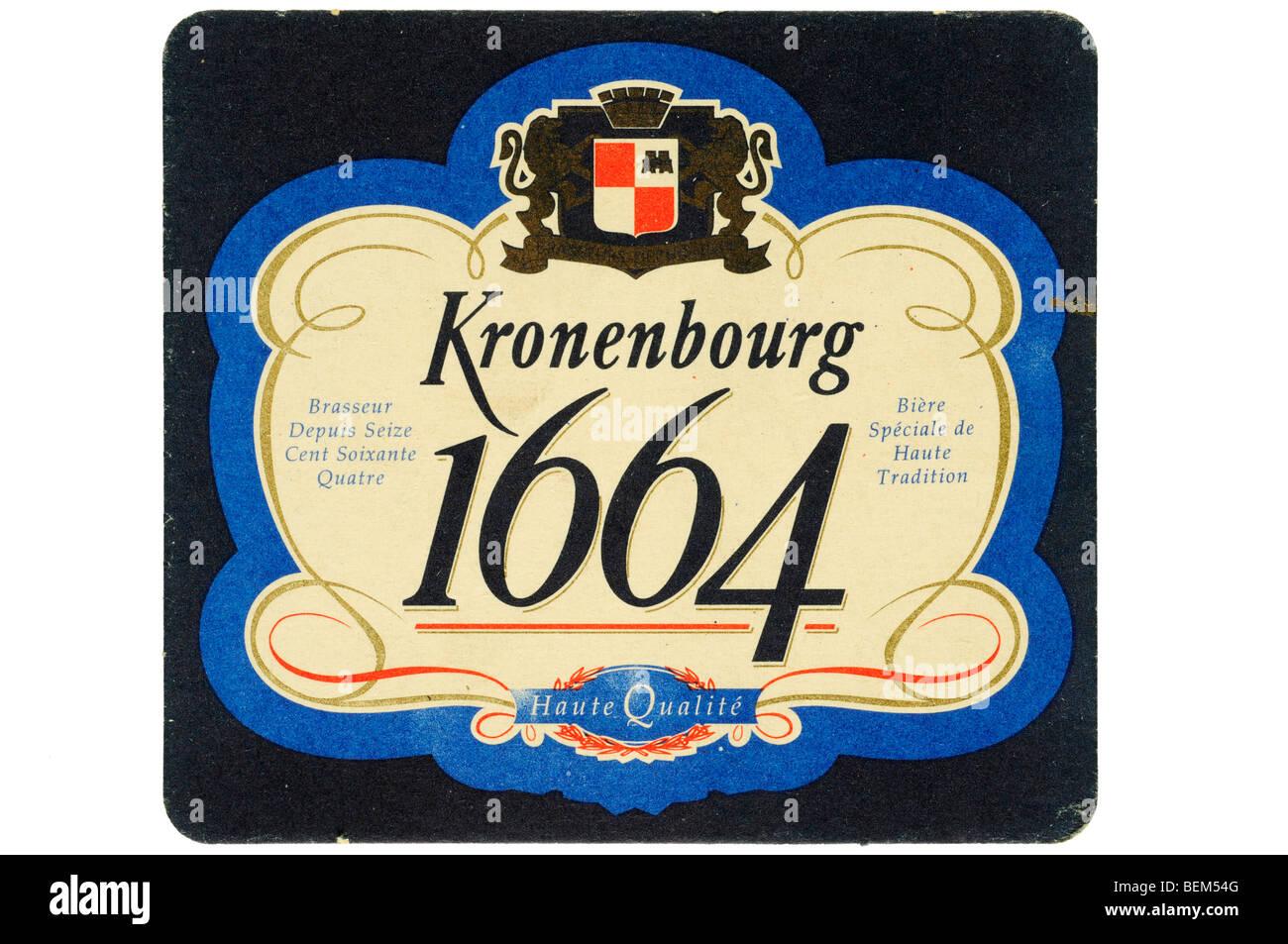kronenbourg 1664 - Stock Image