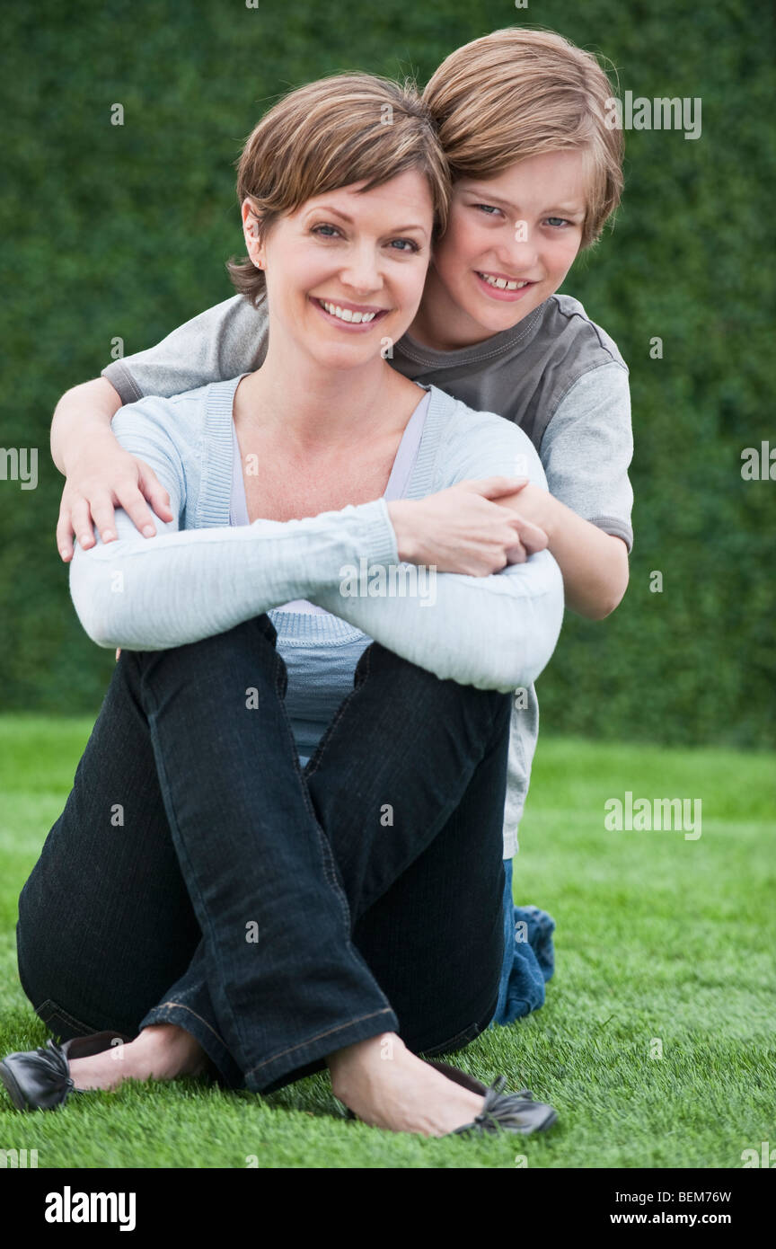 Mother and child - Stock Image